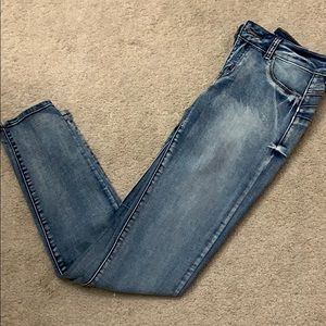 Push-up stretchy jeans